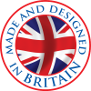 Made and designed in Britain